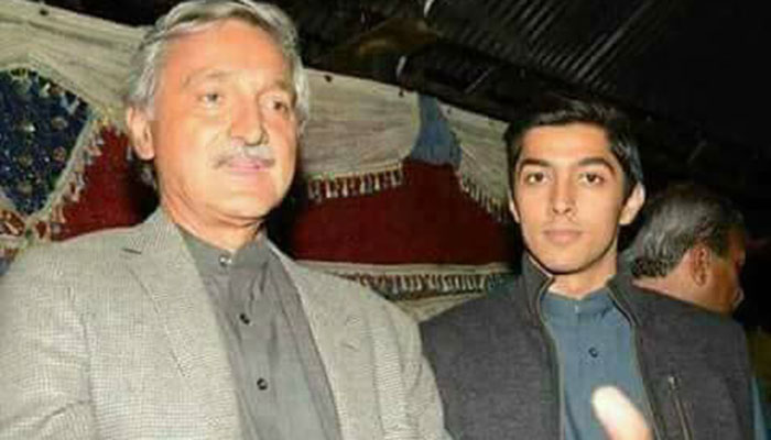 Jahangir Tareen nominates son for NA-154 by-election