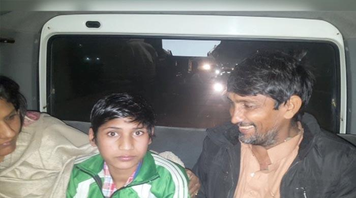 Disabled Pakistani boy imprisoned in India reunites with family