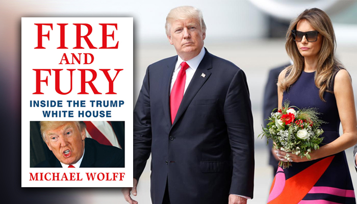 Resultado de imagen para Fire and Fury: Inside the Trump White House