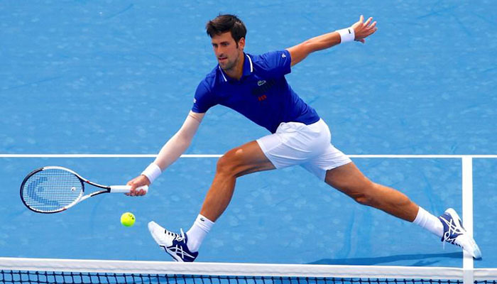 Djokovic returns from injury layoff with thumping win