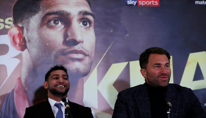 Khan / Hearn outline huge plans, target Pacquiao, Brook, Thurman and Spence