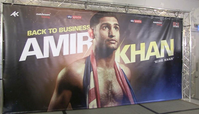 Confirmed: Amir Khan and Eddie Hearn Join Forces In Shock Move