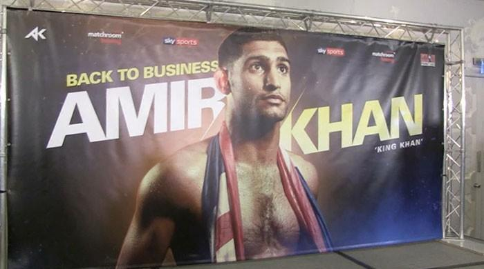 Boxer Amir Khan says has left behind family troubles