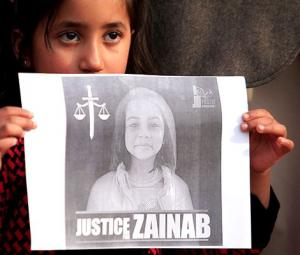 Justice for Zainab, safety for other Zainabs