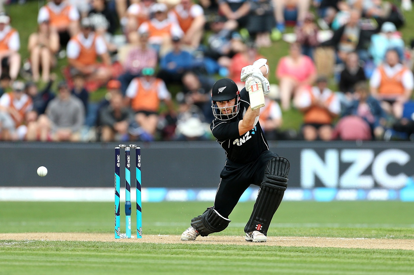 Kane Williamson played a refined knock of 73/Getty Images