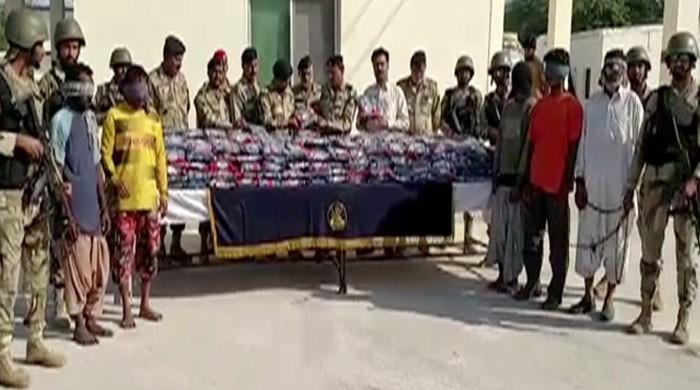 Pakistan Coast Guards foil bid to smuggle 400kg narcotics in Pasni