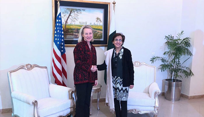 Pakistan urges U.S. to advance bilateral ties