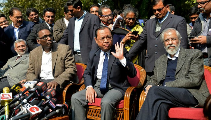 Former Top Judges Join Criticism Of India's Chief Justice