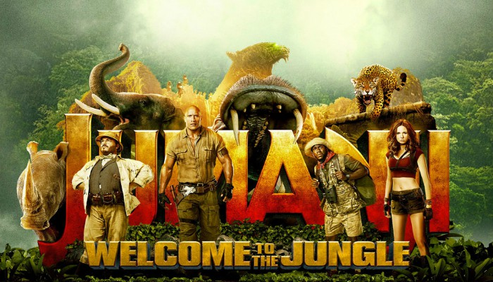 'Jumanji' Tops the Box Office for Second Week in a Row