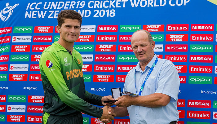 Shaheen Afridi shines as Pakistan outclass Ireland in U19 World Cup