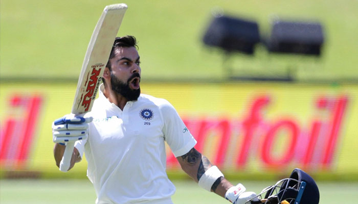 Virat Kohli takes on a journalist in South Africa