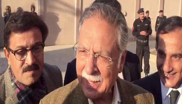 Pervez Rasheed calls Chaudhry Nisar 'hypocrite'
