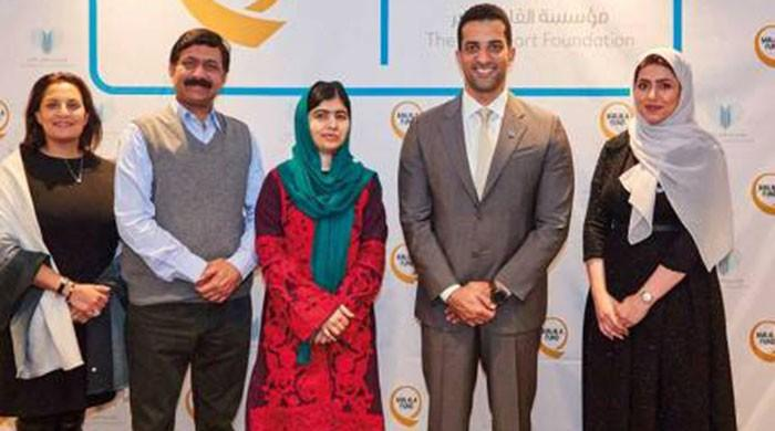 Malala Fund and Sharjah charity donate $700,000 to build school in Pakistan