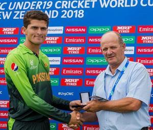 Shaheen Afridi shines as Pakistan outclass Ireland in U19 World Cup