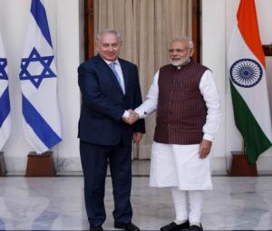 Israel's Netanyahu pushes for India free trade deal during rare visit