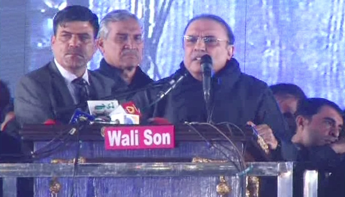 Only danger to country is from Jati Umra: Asif Zardari