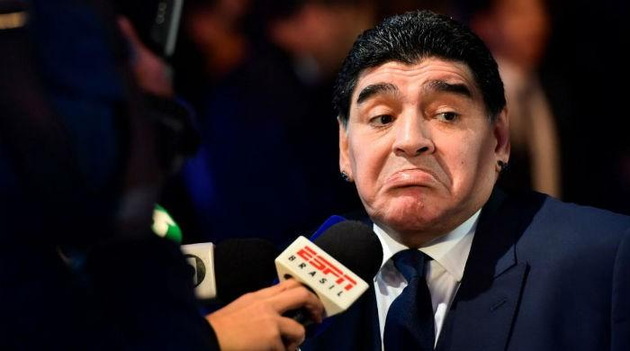 Maradona daughter's wedding fuels family drama