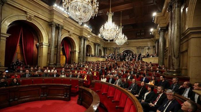 Future of Catalonia unclear as its parliament meets for first time since election