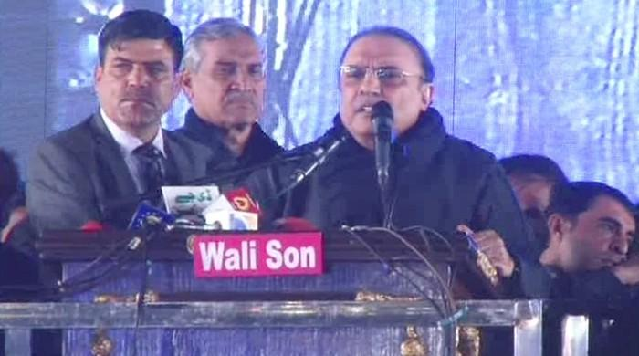 Only threat to Pakistan is from Jati Umra: Asif Ali Zardari