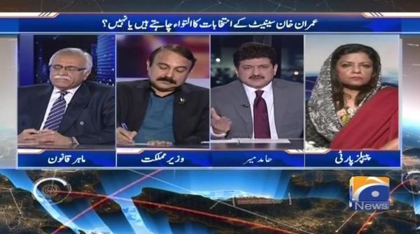 Imran khan senate kay intikhabaat ka iltiwa chahatay hain ya nahi?Capital Talk