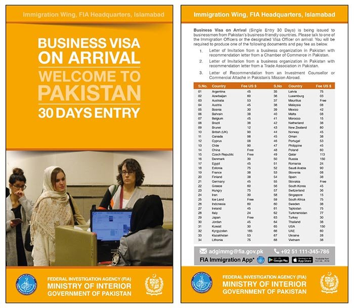 Visa allowed for business travelers