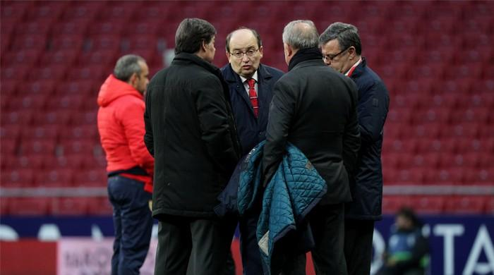 Man arrested after Atletico Madrid supporter stabbed