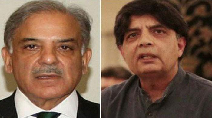 Shehbaz sides with Nisar in rift with Pervaiz Rasheed