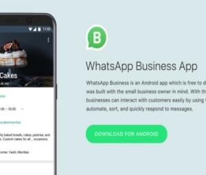 WhatsApp introduces app for business accounts in select countries