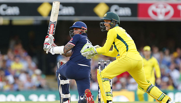 Aaron Finch hit century, but ruined once again as England beats OZ
