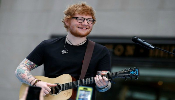 'Our cats are chuffed': Ed Sheeran announces engagement