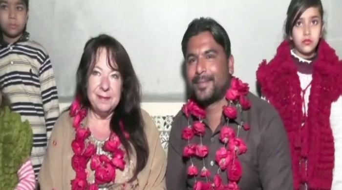 Romance across borders: Canadian woman marries Pakistani online lover