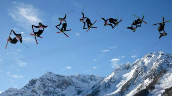 Slopestyle Snowboarding Competition