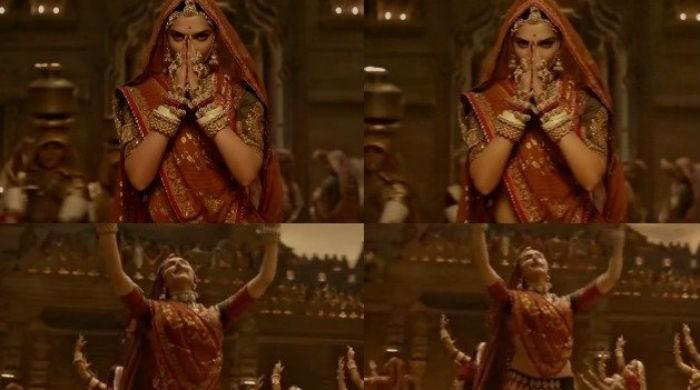 After title change, Padmaavat makers cover Deepika's midriff in song