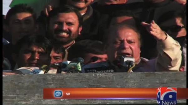 Nawaz Sharif mocks Tahir-ul-Qadri