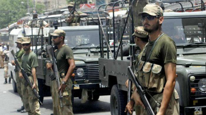 Two terrorists killed in DG Khan