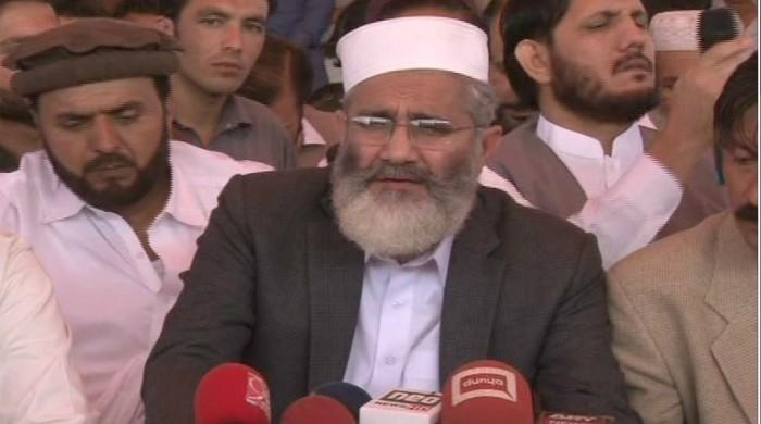 JI chief threatens 'grand rally' in Karachi if concrete steps not taken in Naqeebullah case