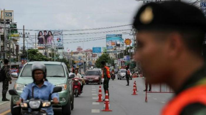 Three civilians killed in southern Thailand market bomb: police
