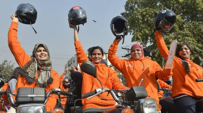Women on Wheels: Female riders get motorcycle subsidy in Punjab