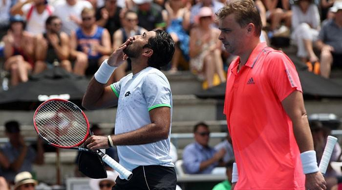 Aisam faces Bryan brothers in Australian Open doubles quarterfinals