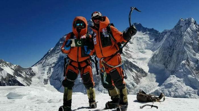 Winter summit: Pakistani mountaineer, partners scale Mt Pumori