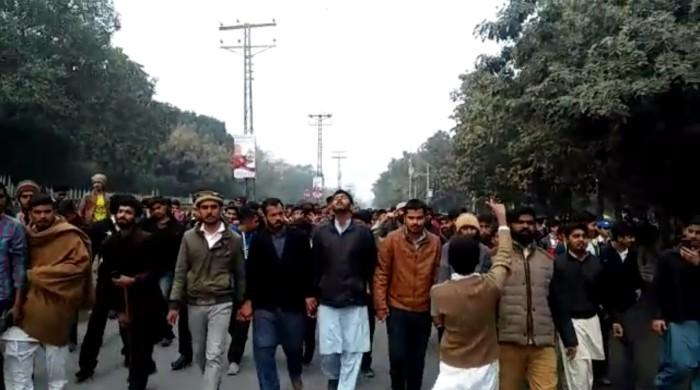 Student group resumes protest day after Punjab University brawl ends