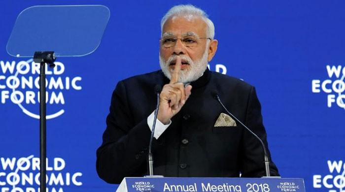 Globalisation is losing its luster, India's Modi tells Davos summit