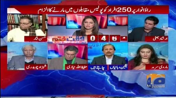 Rao Anwar Inquire committee kay samnay paish kyun nah huway?Report Card
