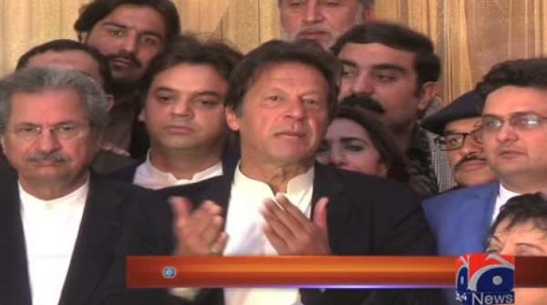 Imran demands immediate merger of FATA with KP