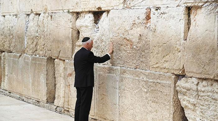 Pence visits Western Wall after pro-Israel speech