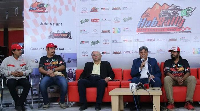 Hub Rally organisers hope to bring Formula One to Pakistan
