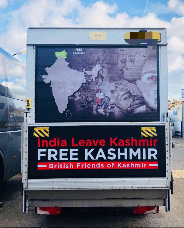 Free Kashmir campaign launches in London ahead of India's Republic Day