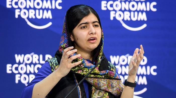 Malala urges Pakistani women to speak for their rights