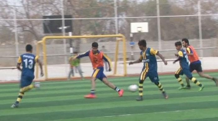 Pakistan Street Child football team gears up for World Cup