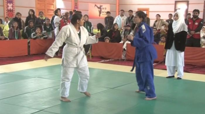 Female judokas strike a blow for women's rights in Pakistan